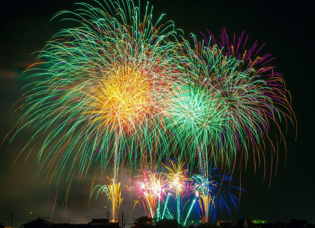 Feuerwerk. Quelle Pixabay, DeltaWorks