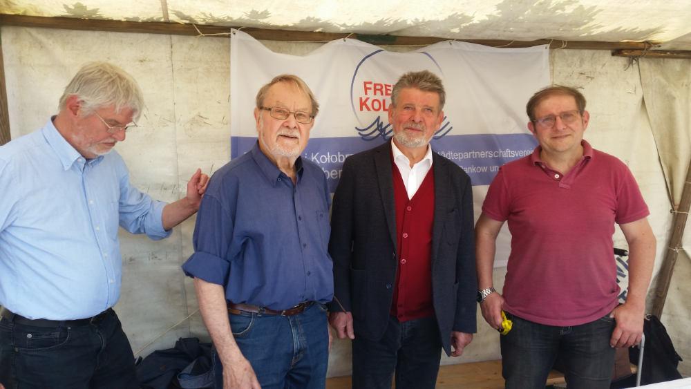 Besuch auf dem Polonia Tag, unter anderem von Alex Lubawinski.