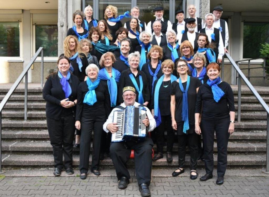 Gofenberg&Chor, aus dem Flyer zum Konzert in Pankow