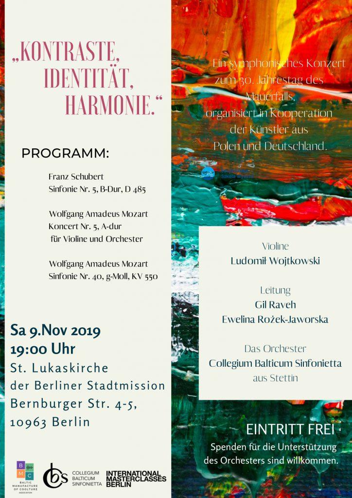 Konzertplakat 2019
